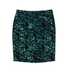 J Crew Brocade Skirt