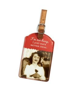 Chico's Not Bossy Luggage Tag #chicos #ChicosSweeps