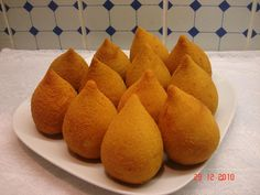 Aprenda a fazer Receita de Coxinha com massa de farinha e batata, Saiba como fazer a Receita de Coxinha com massa de farinha e batata, Show de Receitas