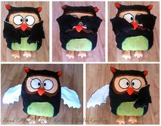 Recycling's sewing.  Mister Owl the Wise:D