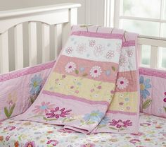 Nice Pink Bedding for Pretty Baby Girl Nursery from Prottery Barn | Kidsomania