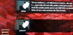 """Os trechos de diálogos entre Aécio Neves e Joesley Batista, da JBS, não ficam nada a dever ao """"é preciso estancar esta sangria"""" de Romero Jucá em matéria de obstrução da Justiça. Ele chama..."""