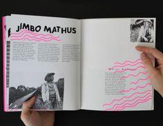 Fat Possum Artist Booklet on Editorial Design Served