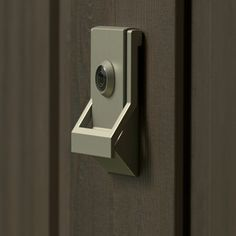 Modern Door Knocker w/ Viewer (Contemporary). * Door Knocker w/ Viewer * Base Material - Solid Brass * UL Listed Viewer * Dimensions: x 3 Finishes Flat Black/ Oil Rubbed Bronze Polished Chrome/ Satin Chrome/ Sat