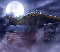Jurassic World Fallen Kingdom, Jurassic Park World, Jurassic Park Trilogy, Jurrassic Park, Dark Humour Memes, Tiger Art, Falling Kingdoms, Spinosaurus, Jurassic World