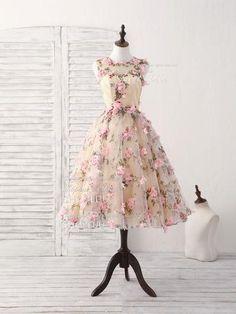 29 Best 3D tulle lace girls dresses images  3591666f12