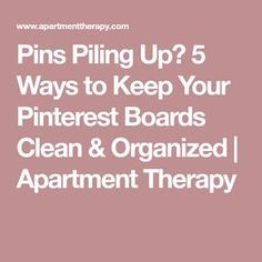 Pinterest Board Names, Pinterest Tutorial, Computer Help, Tech Hacks, Useful Life Hacks, Pinterest Marketing, 5 Ways, Apartment Therapy, Good To Know
