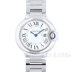 カルティエ バロンブルー SM 28mm W69010Z4 Cartier 腕時計 レディース