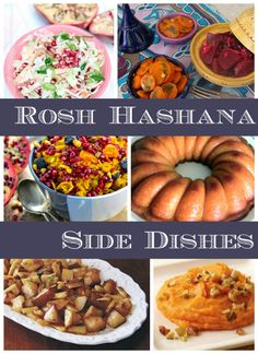 Not sure what side dishes you are going to make for Rosh Hashana this year? I hope that this post will help!  I've scoured the web and here are the most interesting, mouth-watering and seasonally-inspired side dishes I found. Perfect for your New Year's table!