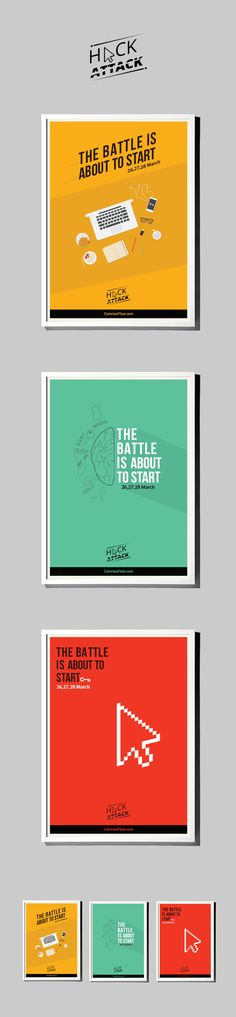 Hackathon Posters on Behance