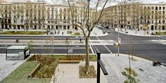 Remodelling of Passeig de St Joan boulevard, Barcelona, Spain (Pedestrian Friendly)