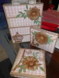 vitange Gift Wrapping, Scrapbook, Flowers, Cards, Gifts, Projects, Gift Wrapping Paper, Presents, Wrapping Gifts