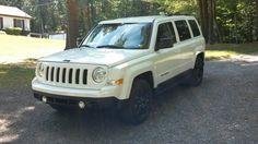 our 2015 jeep patriot altitude