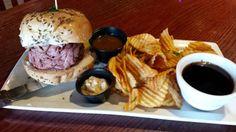Beef on Weck Sandwich Recipe, Beef on Wick Sandwich, How To Make Beef on Weck Sandwich, Whats Cooking America