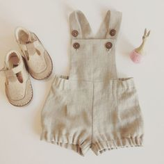 Baby boy romper Linen romper Baby boy overalls Linen dungarees Baby boy linen shorts Diaper cover Cake smash outfit Natural linen shorts – Baby For look here Baby Shorts, Baby Boy Overalls, Baby Boy Romper, Baby Boy Shoes, Boys Shoes, Baby Pants, Summer Shorts, Sewing Baby Clothes, Baby Sewing