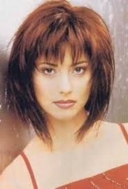 Image result for shaggy bobs for fine hair