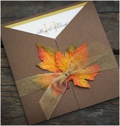 fall wedding invitations-  If you are planning a wedding, you will discover that there are hundreds of styles, as well as clothes. With an autumn wedding, you also need to creat... Check more at http://marinagalleryfineart.com/5177/fall-wedding-invitations-2