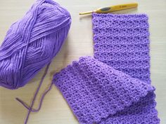 Textured Scarf Pattern
