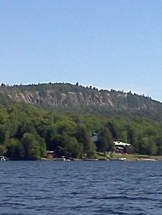 View of Bald Mountain Old Forge, NY