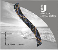 Bead loom pattern, PDF seed bead, bracelet DIY, beading instant, pattern Digital, jewlery pattern, beaded loom jewelry, geometric pattern, bookmark geometric, geometric loom, loom bracelet pdf, diy beading, digital jewelry, pdf bracelet, colorful bracelet, beading tutorial -