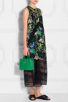 No.21 Silk Lace Cut Out Dress