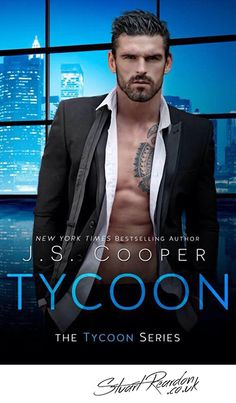 Official Stuart Reardon - Tycoon Book Cover - www.stuartreardon.co.uk - English Rugby Player, Model & Trainer- Managed by Ellie@LoveNBooks.com