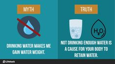 "Flush Your ""Weight"" Out! 10 Food and Drinks That Really Help To Ease Your Water Weight!"