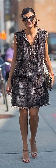Giovanna Battaglia Street Style New York