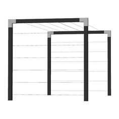Pergola With Glass Roof Referral: 6855489661 Pergola Attached To House, Pergola With Roof, Pergola Swing, Pergola Shade, Outdoor Clothes Lines, Laundry Rack, Clothes Drying Racks, Clothes Dryer, Pergolas For Sale