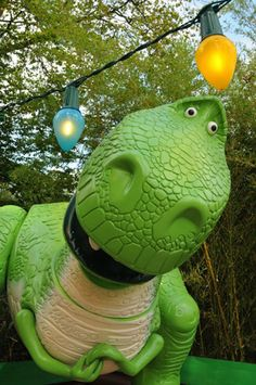 Toy Story Playland at Walt Disney Studios. I wanna squeeze  the Rex