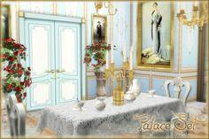 Palace Set at Helen Sims • Sims 4 Updates