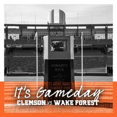 Get up Tigers! It's Gameday! Clemson Football, Wake Forest, Get Up, Tigers, Beats, Stand Up, Get Back Up, Big Cats