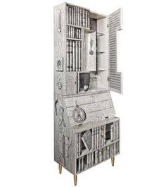 What's Hot: Fornasetti's Libri Cabinet - ELLE DECOR