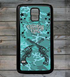 Country Girl® Camo Guns Galaxy S5 Phone Case/Cover