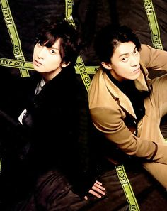 Oguri Shun and Ikuta Toma on Tv Navi SMILE vol.15, 2015
