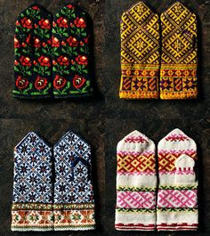 Latvian mittens on Japanese website