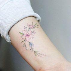 Adorable ankle tat by Mini Lau
