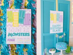 Festa Monstros SA (Monsters Inc Party)