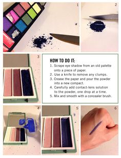 DIY Liquid Eyeliner | Rue La La | DIY & Crafts