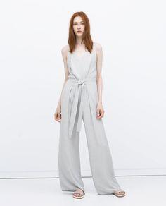 Jumpsuit dress with tie waist ($70, originally $100)