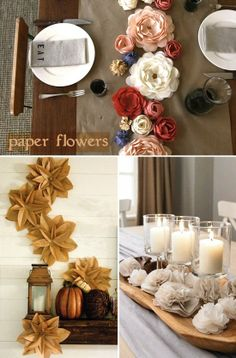 Affordable Holiday Table Decorating Ideas | Lighting & Interior Design Ideas Blog