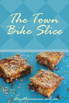 Why call this The Town Bike Slice? Because it's cheap, easy and everyone can enjoy it! Biscuit Cake, Biscuit Recipe, Baking Recipes, Dessert Recipes, Milk Recipes, Cake Recipes, Fried Fish Recipes, Food Tasting, Yummy Cookies