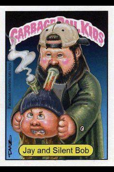 Jay & Silent Bob...Garbage Pail Kids