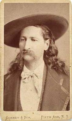 Wild Bill Hickok CDV, by Gurney & Son