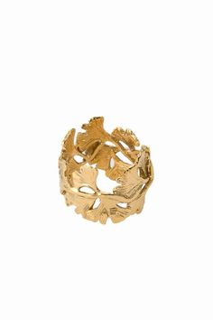 Aurelie Bidermann // Gingko Feathers Ring