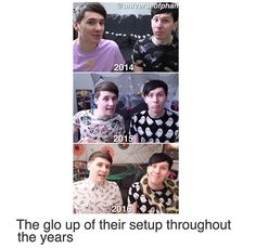 Dan always says he loves to decorate
