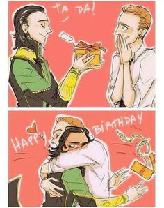 """""""The God of Mischief himself wishes our dear Tom a Happy Birthday """" (https://twitter.com/TomHiddlesNews/status/829687979228663808 )"""