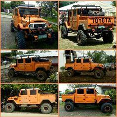 OMG😨😨😨 dale like ♥ etiqueta tus amigos👇👇👇 Toyota Fj40, Toyota Trucks, Cool Trucks, Pickup Trucks, Toyota Land Cruiser, Land Cruiser 4x4, Carros Toyota, Expedition Vehicle, Jeep Truck