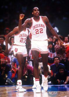 Dean Garrett - Indiana  -   #IUCollegeBasketball