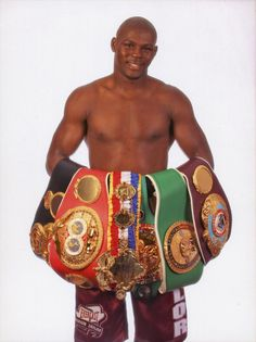 Jermain Taylor. The Undisputed Middleweight World Champion 2005-2007. WBA, WBC, WBO, IBF and The Ring titles.